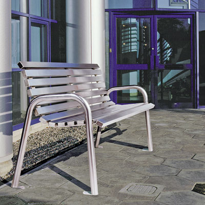 Arlington Seat (Stainless Steel)