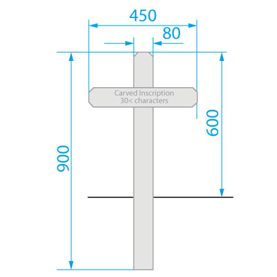 Grave Markers Inscription Service Streetmaster Products