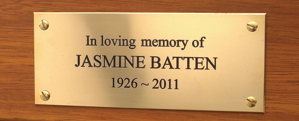 Engraved Brass Plaques